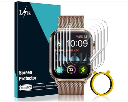 lk store screen protector for apple watch series 6 and 5