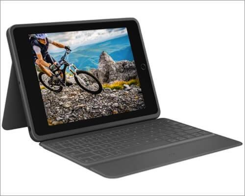 logitech rugged folio case for 10.2-inch ipad