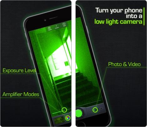 night vision camera iphone and ipad app screenshot