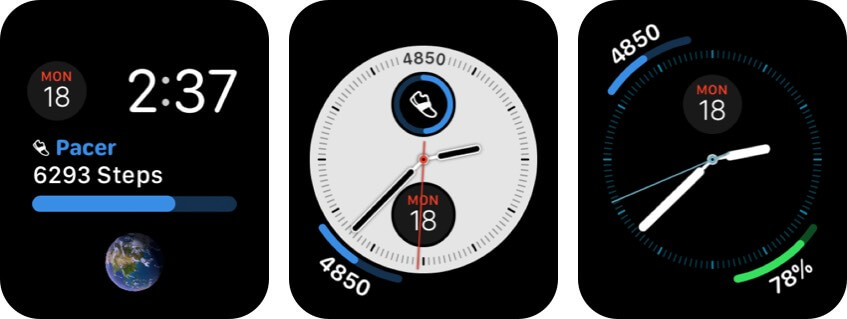 pacer pedometer apple watch health app screenshot