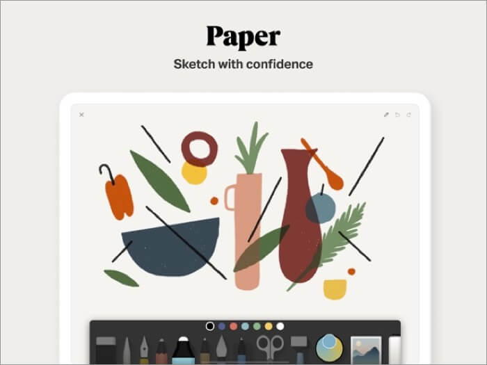paper by wetransfer iphone and ipad app screenshot