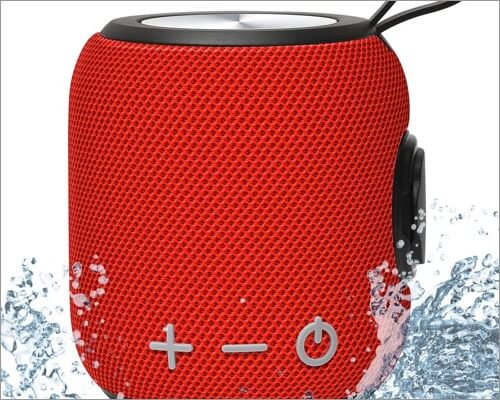 sanag mini bluetooth speaker for iphone 11, 11 pro, and 11 pro max