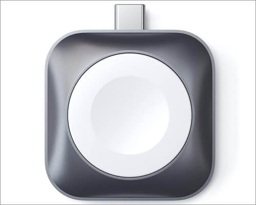satechi usb-c charging dock for apple watch series 5