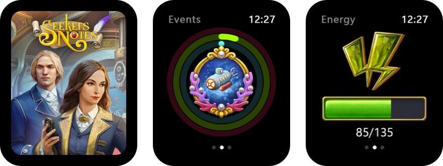 seekers notes: hidden mystery apple watch game screenshot