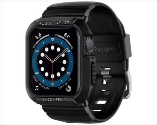 spigen rugged armor case for apple watch series 5