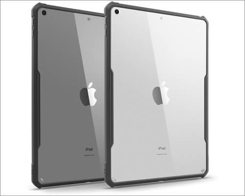 tineeowl ultra slim clear case for 10.2-inch ipad