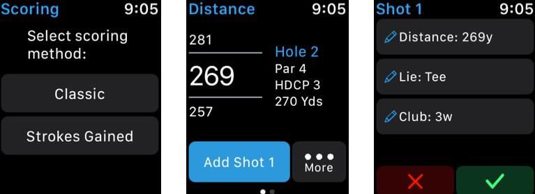 18Birdies Golf Apple Watch App Screenshot