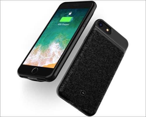 WELUV Wireless Battery Case for iPhone 8