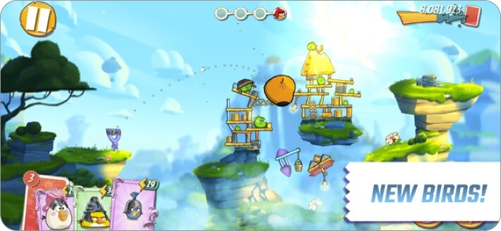 Angry Birds 2 iPhone and iPad Action Game Screenshot