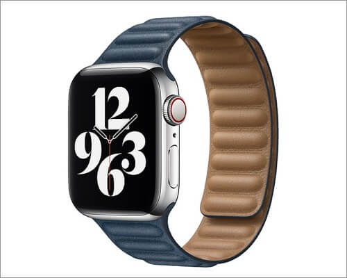 Apple Leather Link Band for Apple Watch Series 6, 5, 3 and SE