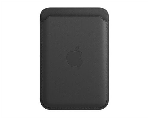 Apple Leather Wallet with MagSafe for iPhone 12 and 12 Pro