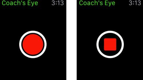 Coach's Eye Apple Watch Golf App Screenshot
