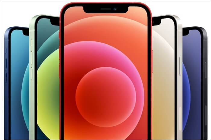 Color Variants of iPhone 12 and 12 Mini