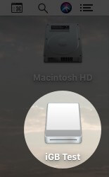 Double Click on Disk Image from Mac Desktop