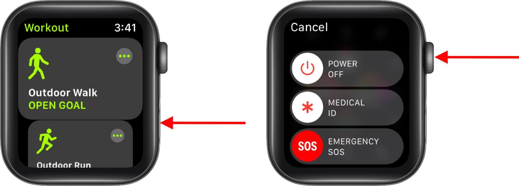 Force Close App on Apple Watch