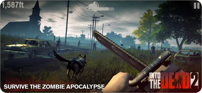 Into The Dead 2 iPhone and iPad Zombie Game Screenshot