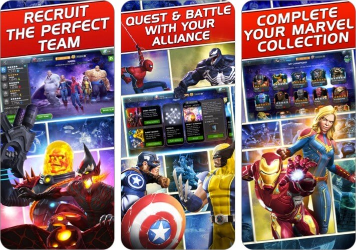 Marvel Contest of Champions iPhone and iPad Action Game Screenshot