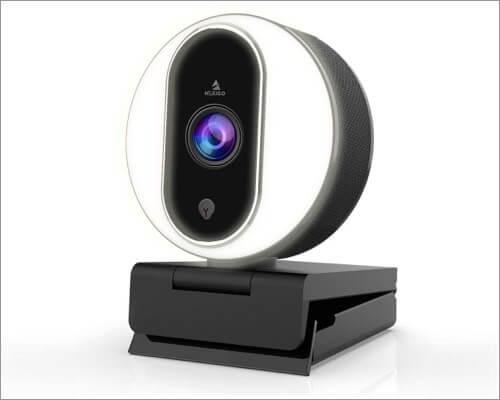 NexiGo Streaming Webcam with Ring Light for Mac