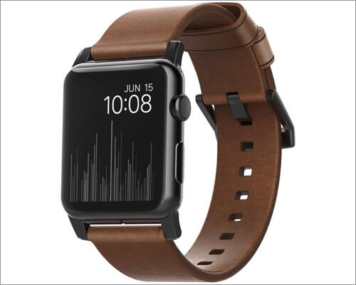 Nomad Modern Strap for Apple Watch Watch Series 6, 5, 3 and SE