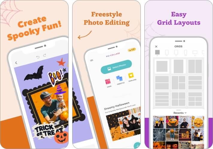 PicCollage iPhone App Screenshot
