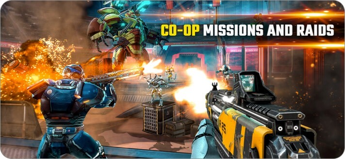 Shadowgun Legends iPhone and iPad Action Game Screenshot