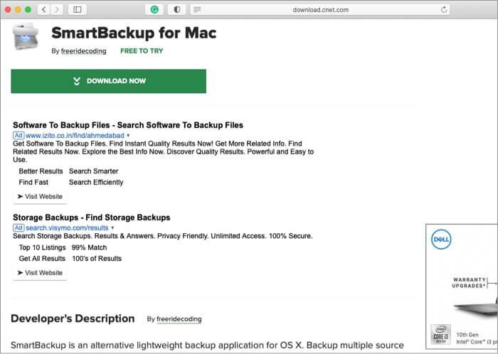 Smart Backup Mac Backup Software
