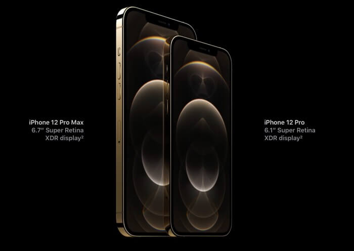 Specifications of Design and Display of iPhone 12 Pro and 12 Pro Max
