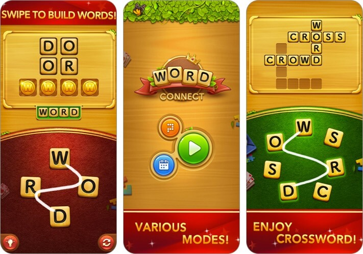 Word Connect iPhone and iPad Game Screenshot