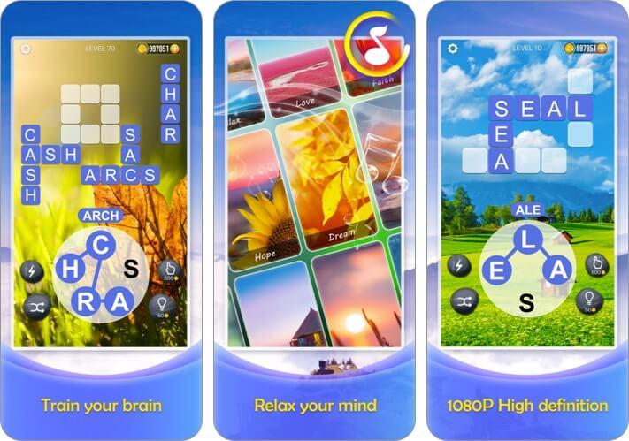 Word Crossy iPhone and iPad Game Screenshot