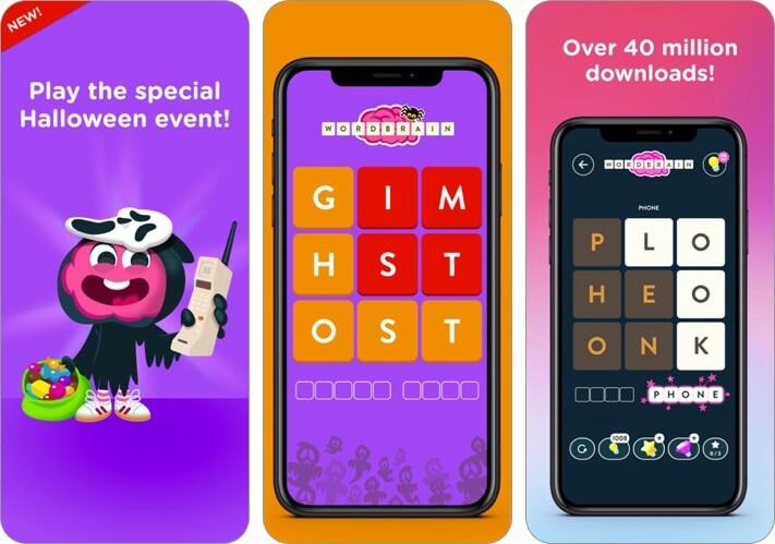 WordBrain iPhone and iPad Game Screenshot