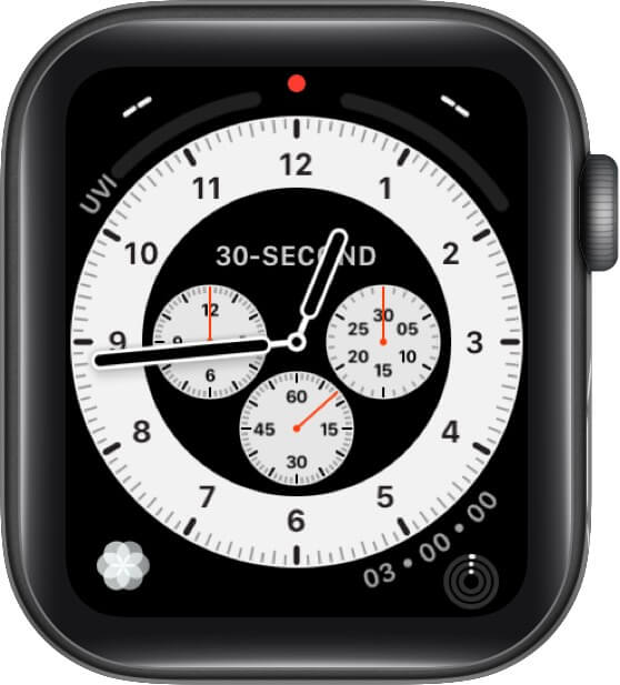 Chronograph Pro Watch Face