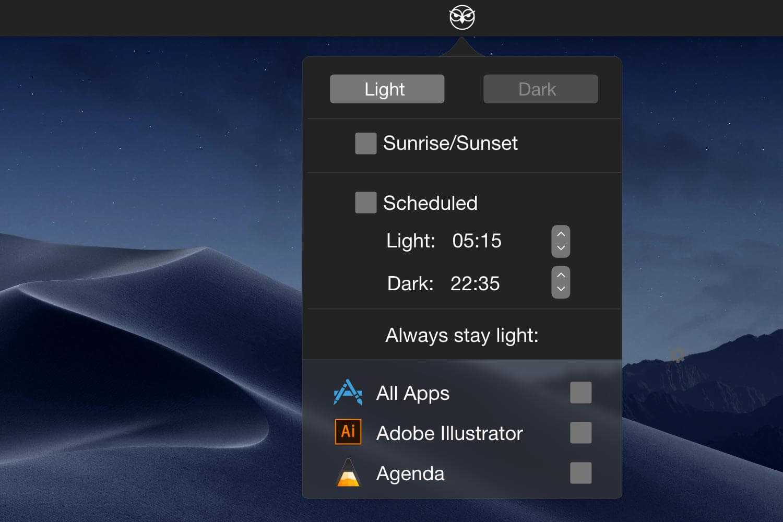 Easily Control Mac Dark Mode with NightOwl