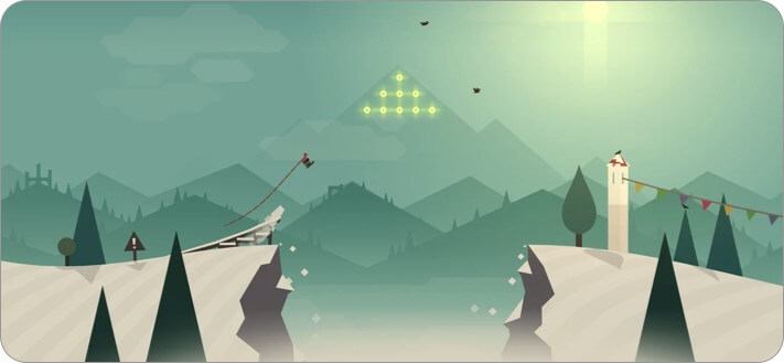 Alto's Adventure iPhone and iPad Indie Game Screenshot