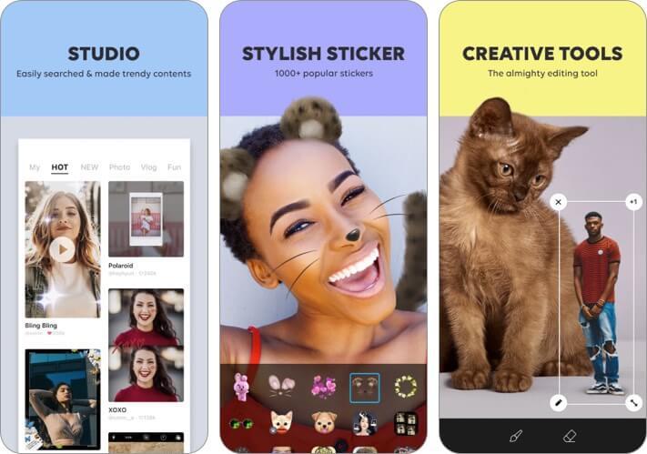 B612 iPhone and iPad Selfie App Screenshot