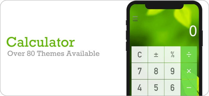 Calculator iPhone and iPad App Screenshot