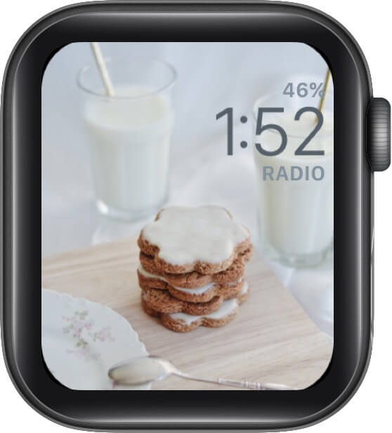 Common Soon Santa, Cookies are ready Watch Face