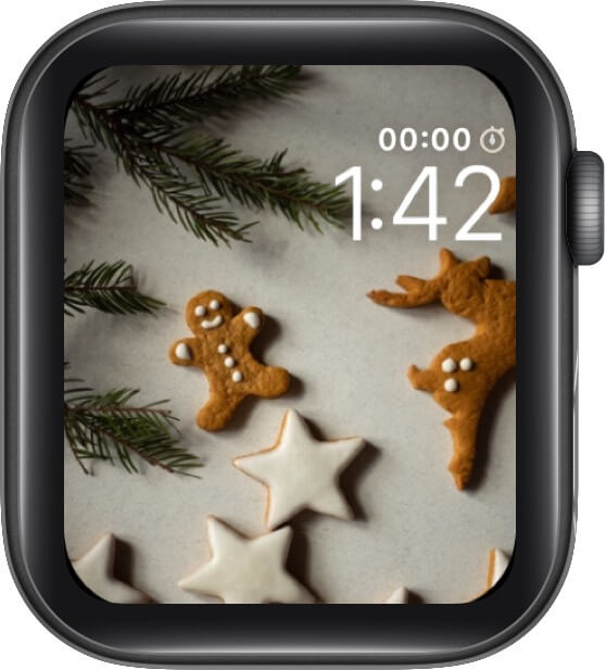 Dunk The Stars and The Gingerbread Man Watch Face