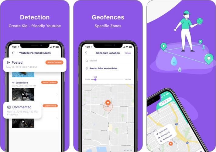 FamiSafe iPhone and iPad Parental Control App Screenshot
