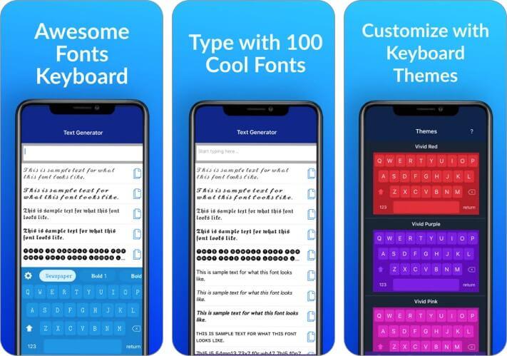 Fonts for You iPhone App Screenshot