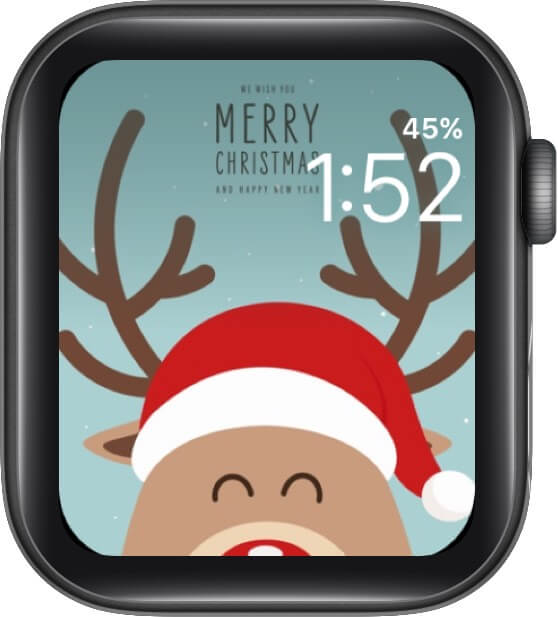 Have Yourself a Merry Little Christmas Watch Face