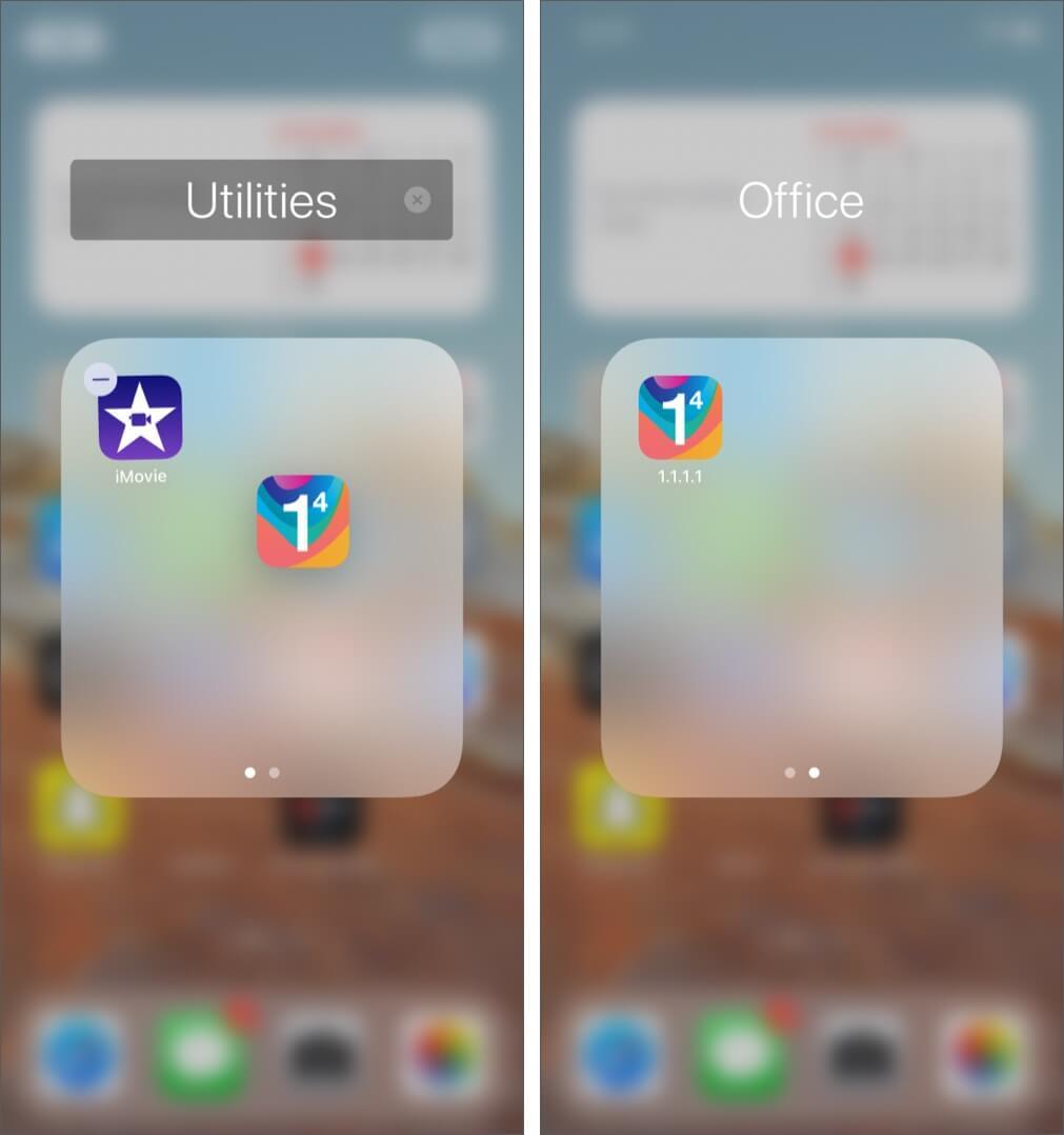 Hide Apps in Folders on iPhone