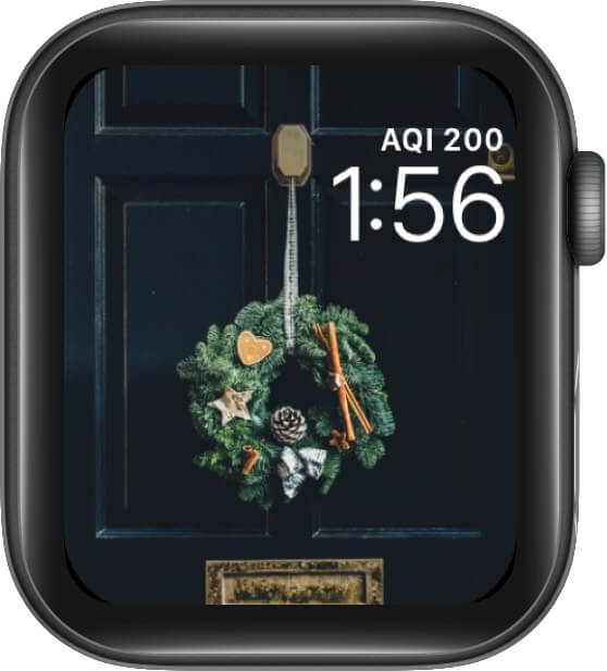It's Time for a Kiss Under the Mistletoe Watch Face