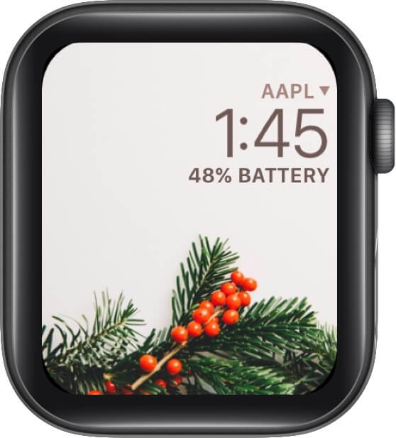 Let's Be Merry, Christmasberry Watch Face