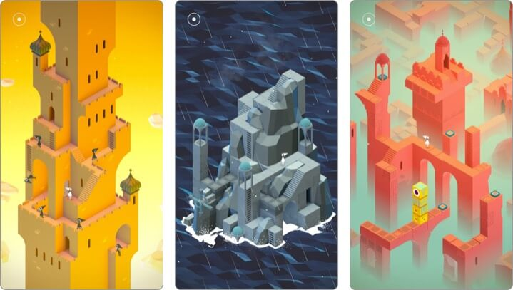 Monument Valley iPhone and iPad Indie Game Screenshot