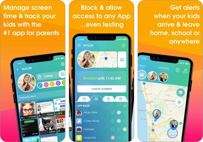 OurPact iPhone and iPad Parental Control App Screenshot