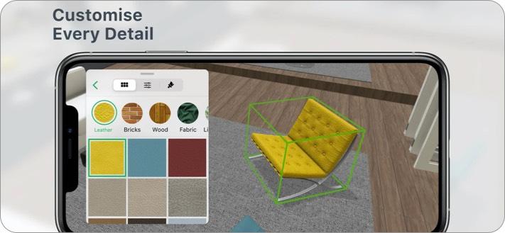 Planner 5D Interior Design iPhone and iPad App Screenshot
