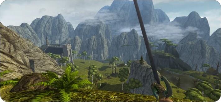 Ravensword Shadowlands iPhone and iPad RPG Game Screenshot