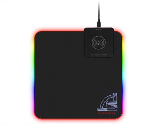 Signo Wireless Charger Mouse Pad