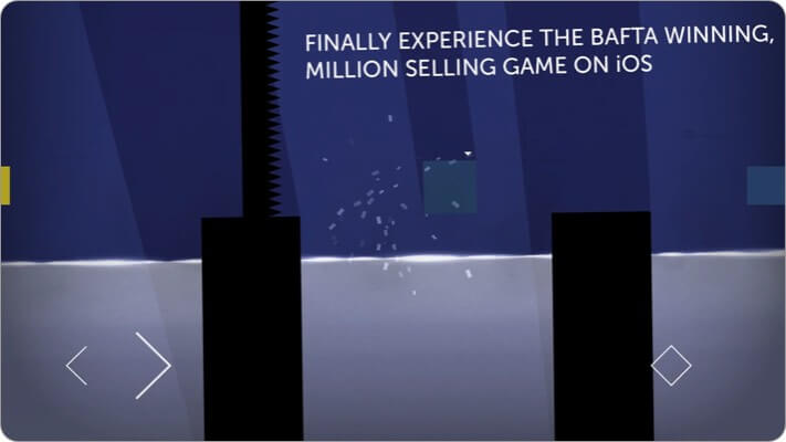 Thomas was Alone iPhone and iPad Indie Game Screenshot