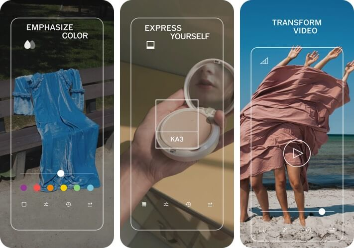 VSCO RAW Photo Editing iPhone and iPad App Screenshot
